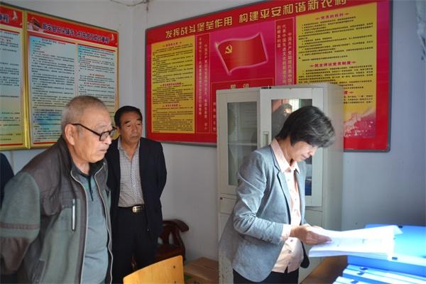 县委常委、组织部长刘喜红到五头镇调研党建及扶贫工作